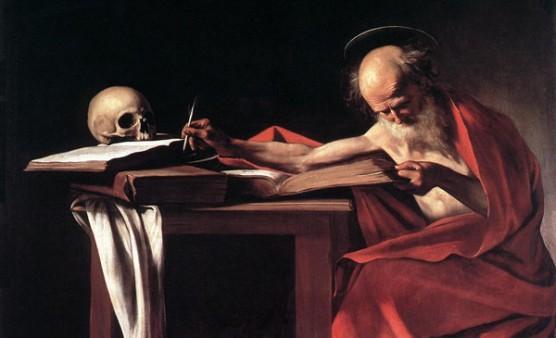 St Jerome_Caravaggio_0